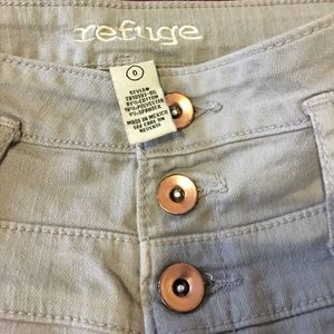 2 refuge jeans size 0